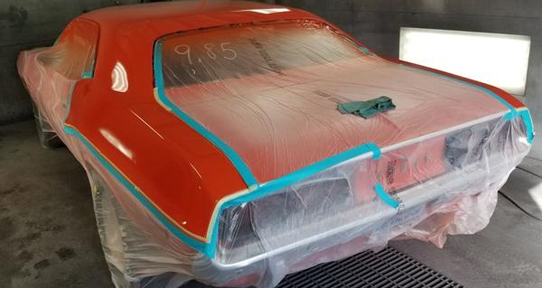 Car before the repair